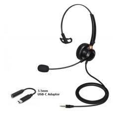 USB-C Single Speaker (Mono) Headset - XHS-BM9300-USC