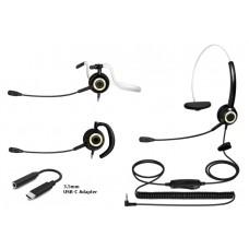 USB-C - Single Speaker (Mono) Headset - XHS-CM8200-USC