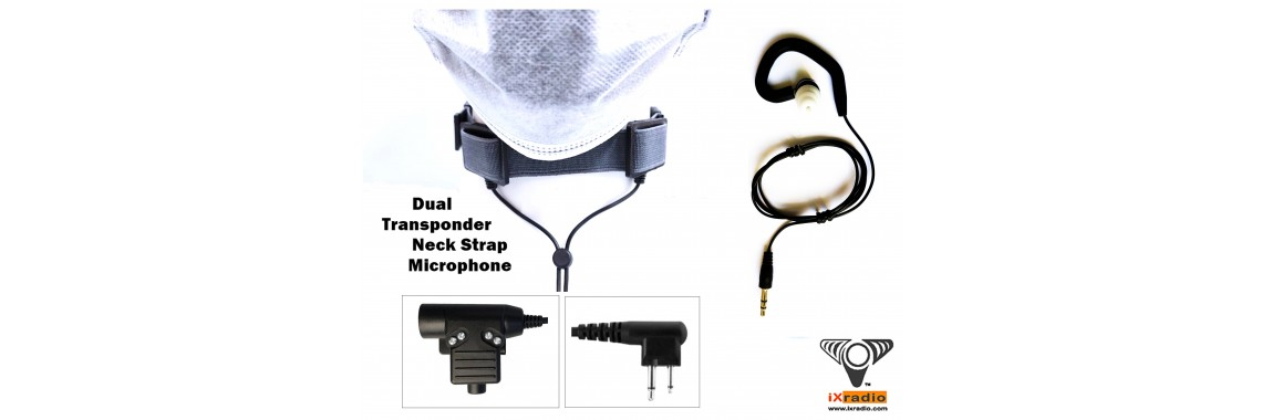 Motorola Radio Neck Microphone