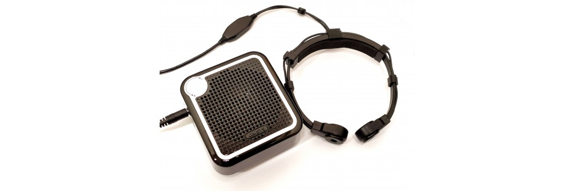 Powerful Throat Microphone with Speaker