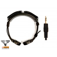 """Throat Microphone with 1/8"""" (3.5mm) Plug For Voice Amplifier - XVTM822D-D35 (Dual Transponder)"""