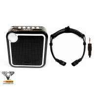Voice Amplifier with Dual Transponder Throat Microphone -  XVA-VC319-T822D