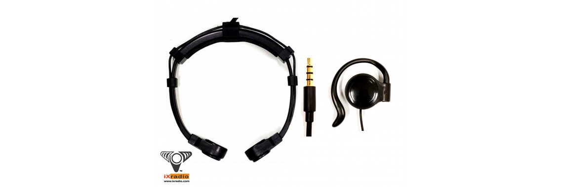 Phone Throat Mic with 3.5mm Connector