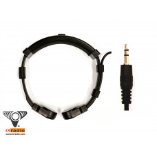Throat Microphone with straight 3.5mm Connector - Direct Mic For Voice Amplifier, Recorder XVTM821S-D35